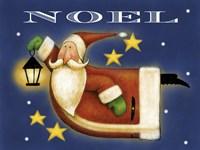 Santa Fly Fine Art Print