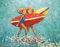 Surfers No 2 Fine Art Print