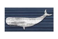 Rustic Whale Fine Art Print