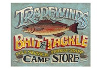 Tradewinds Bait & Tackle Fine Art Print