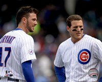 Kris Bryant & Anthony Rizzo 2015 Action Fine Art Print