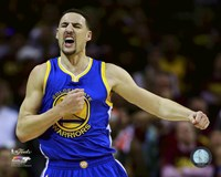 Klay Thompson Game 6 of the 2015 NBA Finals Fine Art Print