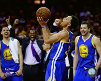 Stephen Curry Game 6 of the 2015 NBA Finals Fine Art Print