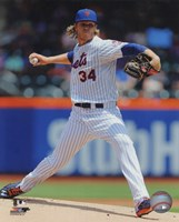 Noah Syndergaard 2015 Action Fine Art Print