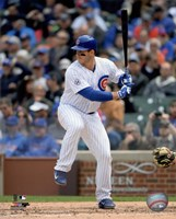 Anthony Rizzo 2015 Action Fine Art Print