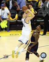 Klay Thompson Game 2 of the 2015 NBA Finals Fine Art Print