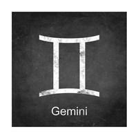 Gemini - Black Fine Art Print