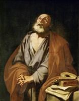 Saint Peter Penitent Fine Art Print