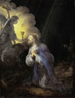 Christ in the Garden of Gethsemane Fine Art Print