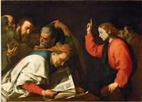 Twelve Year Old Jesus and the Doctors, c.1630 Fine Art Print