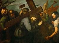 Christ Carrying the Cross, c. 1630 Fine Art Print
