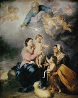 The Holy Family, also called the Virgin of Seville Fine Art Print