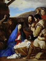The Adoration of the Shepherds Fine Art Print