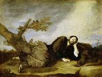Jacob's Dream, 1639 Fine Art Print