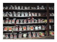 Bowling Shoes on a Shelf Fine Art Print