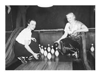 Bowling Alley, 1936 Fine Art Print