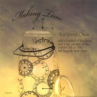 Making Time Fine Art Print