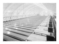 Convention Hall, Bowling Alley Fine Art Print