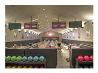 Bowling Center at Mount Vernon Fine Art Print