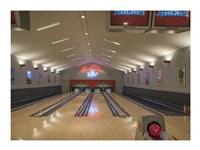 Bowling Center at Mount Vernon Fine Art Print