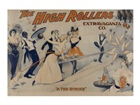 The High Rollers Extravaganza Co. Fine Art Print