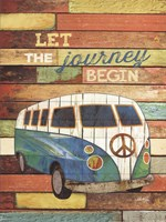 Let the Journey Begin Fine Art Print
