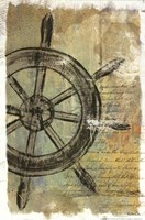 Ship Wheel Fine Art Print