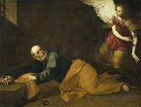 Saint Peter Freed by an Angel, 1639 Fine Art Print