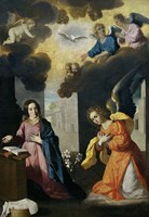 The Annunciation, 1638-1639 Fine Art Print