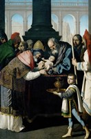 The Circumcision, 1638-1639 Fine Art Print