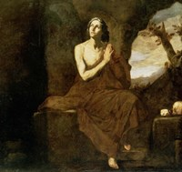 Saint Mary of Egypt Fine Art Print