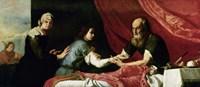 Isaac and Jacob, 1637 Fine Art Print