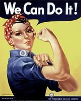 Rosie the Riveter Fine Art Print