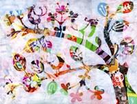 Girly Bird Fine Art Print