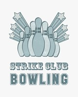 Strike Club Bowling Fine Art Print