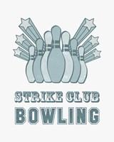 Strike Club Bowling Fine Art Print