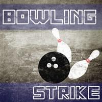Bowling Strike Fine Art Print