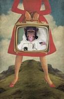Monkey See Monkey Do Fine Art Print