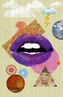 Retro Kiss Fine Art Print