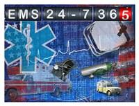 EMS 24-7 365 Framed Print