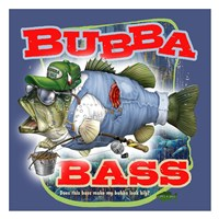 Bubba Bass Framed Print