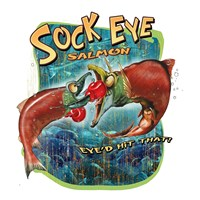 Sock Eye Salmon Fine Art Print