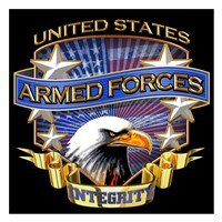 Armed Forces Framed Print