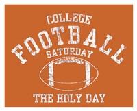 College Football Fine Art Print