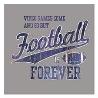 Footbal Forever Fine Art Print