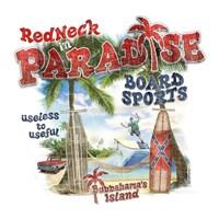 Redneck Paradise Framed Print