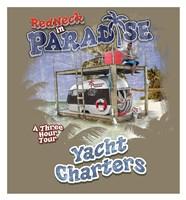 Redneck Yacht Charters Framed Print
