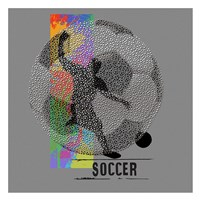 Soccer Framed Print