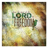Lord Freedom Fine Art Print