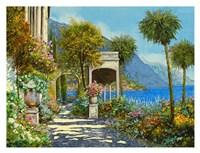 Passeggiata al Lago Fine Art Print